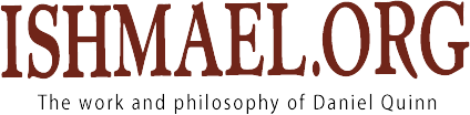 Ishmael by Daniel Quinn Logo