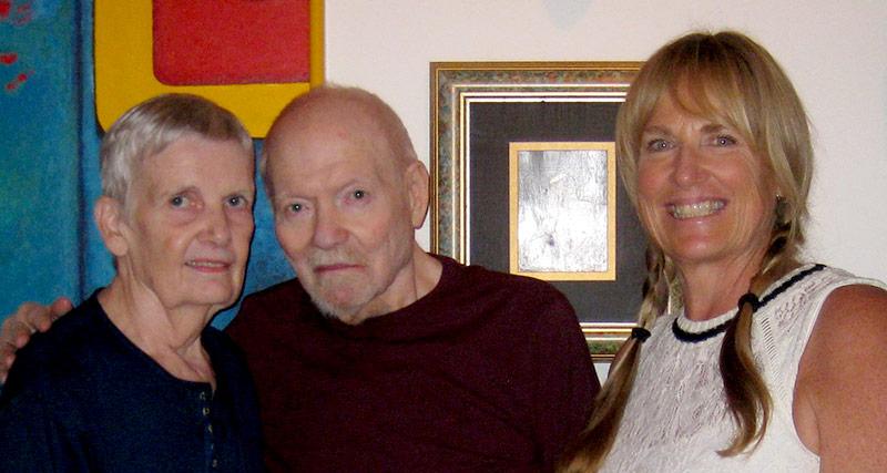 Rennie, Daniel & Elizabeth Barrett - KCBX Radio host